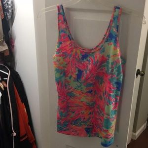 Lilly Pulitzer Kinsey Tank: Palm Beach Coral BNWT